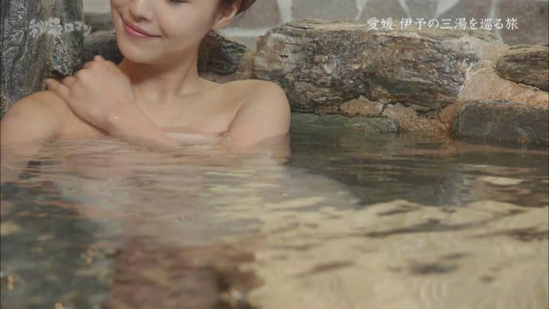 【石川理咲子キャプ画像】超美人でスタイルのいい女性の温泉入浴シーンはいいものだwww 13