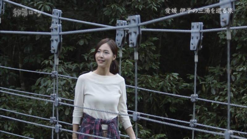 【石川理咲子キャプ画像】超美人でスタイルのいい女性の温泉入浴シーンはいいものだwww 16