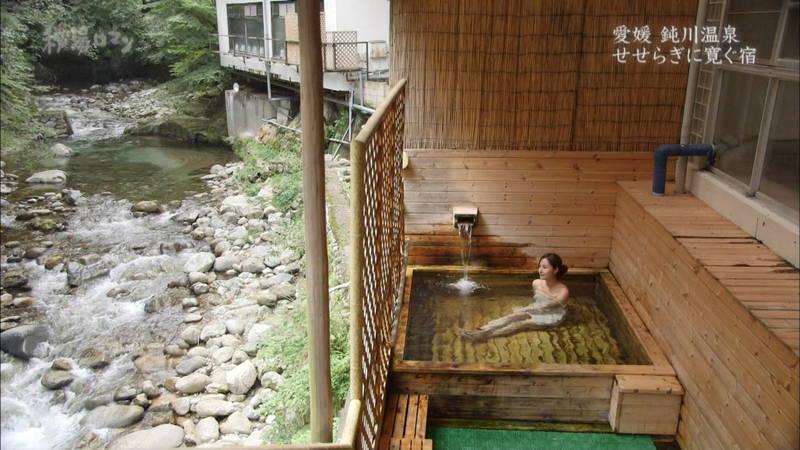 【石川理咲子キャプ画像】超美人でスタイルのいい女性の温泉入浴シーンはいいものだwww 19