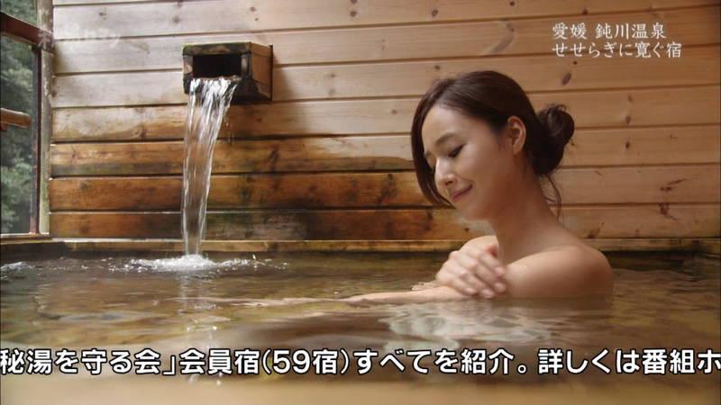 【石川理咲子キャプ画像】超美人でスタイルのいい女性の温泉入浴シーンはいいものだwww 20