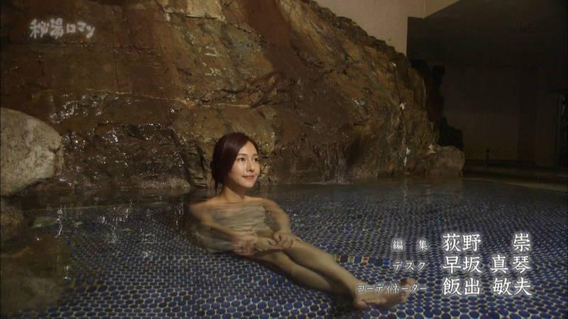 【石川理咲子キャプ画像】超美人でスタイルのいい女性の温泉入浴シーンはいいものだwww 22