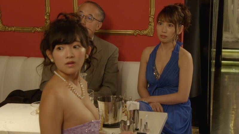 【夏菜キャプ画像】キャバ嬢のドラマにあったシャワーシーンがシコれすぎて困るwww