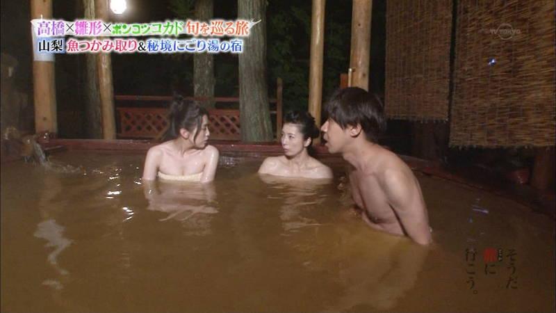 【雛形あきこキャプ画像】アラフォーになっても貫禄の巨乳と貫禄の入浴テクを見せる雛形あきこwww 04