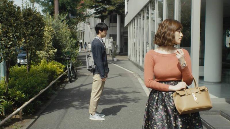 【筧美和子キャプ画像】爆乳のことしか印象に残らないという筧美和子出演のドラマwww