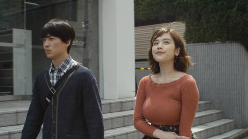 【筧美和子キャプ画像】爆乳のことしか印象に残らないという筧美和子出演のドラマwww 05