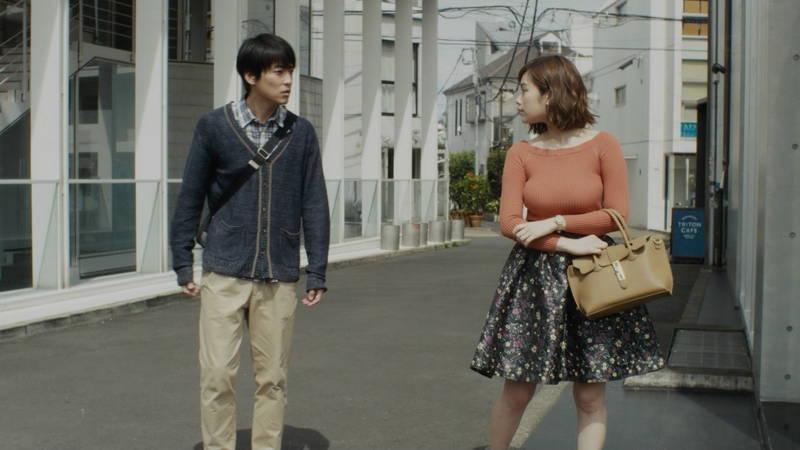 【筧美和子キャプ画像】爆乳のことしか印象に残らないという筧美和子出演のドラマwww 07