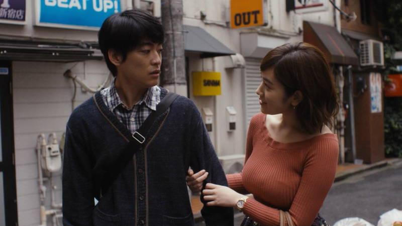【筧美和子キャプ画像】爆乳のことしか印象に残らないという筧美和子出演のドラマwww 17