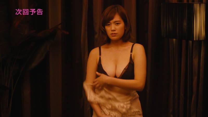 【筧美和子キャプ画像】爆乳のことしか印象に残らないという筧美和子出演のドラマwww 26