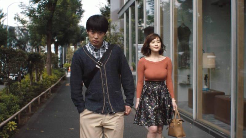 【筧美和子キャプ画像】爆乳のことしか印象に残らないという筧美和子出演のドラマwww 28