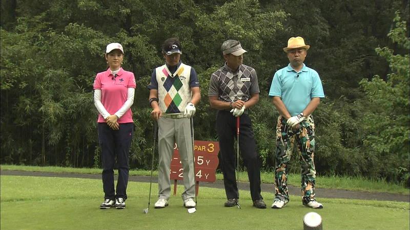 【原史奈キャプ画像】グラドルやめて着衣でゴルフしてても巨乳が目立つ原史奈ってwww 17