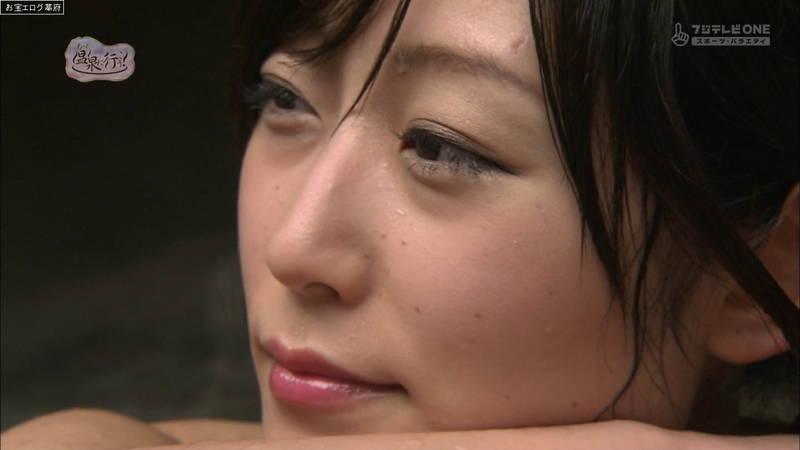 【柚木しおりキャプ画像】完全な全裸で入浴する柚木しおりがイメージビデオにしか見えないwww 18