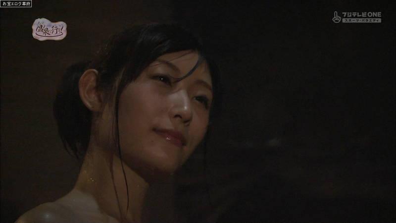 【柚木しおりキャプ画像】完全な全裸で入浴する柚木しおりがイメージビデオにしか見えないwww 26