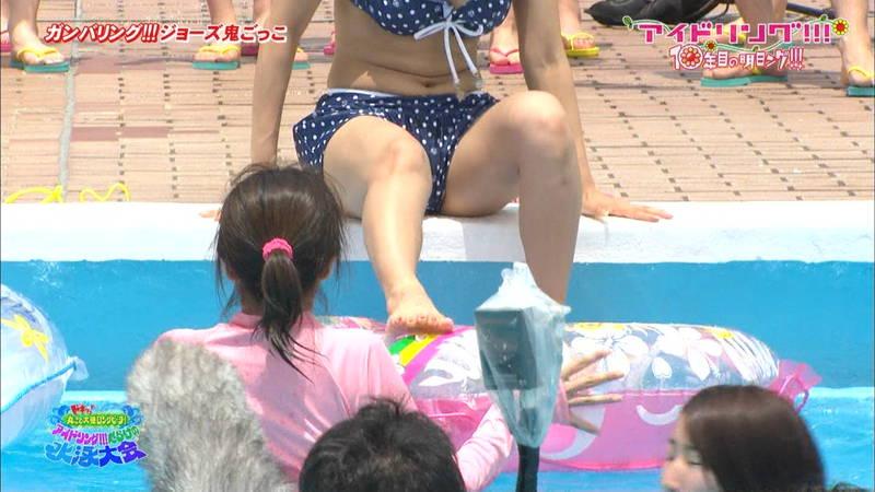 【大川藍キャプ画像】アイドリングの水泳大会で一番目立ってた大川藍の巨乳www 06