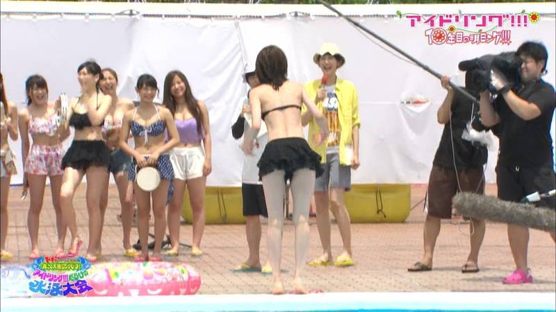 【大川藍キャプ画像】アイドリングの水泳大会で一番目立ってた大川藍の巨乳www 32