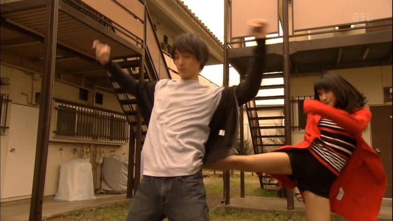 【土屋太鳳キャプ画像】土屋太鳳がドラマで短パン姿になって健康的な太ももを披露www 09