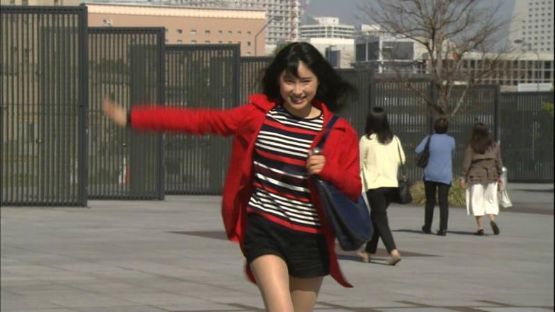 【土屋太鳳キャプ画像】土屋太鳳がドラマで短パン姿になって健康的な太ももを披露www 12