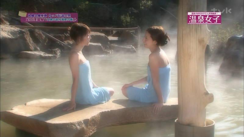 【マッサージキャプ画像】温泉番組は入浴シーンだけじゃなくマッサージシーンも捨てられないwww 15