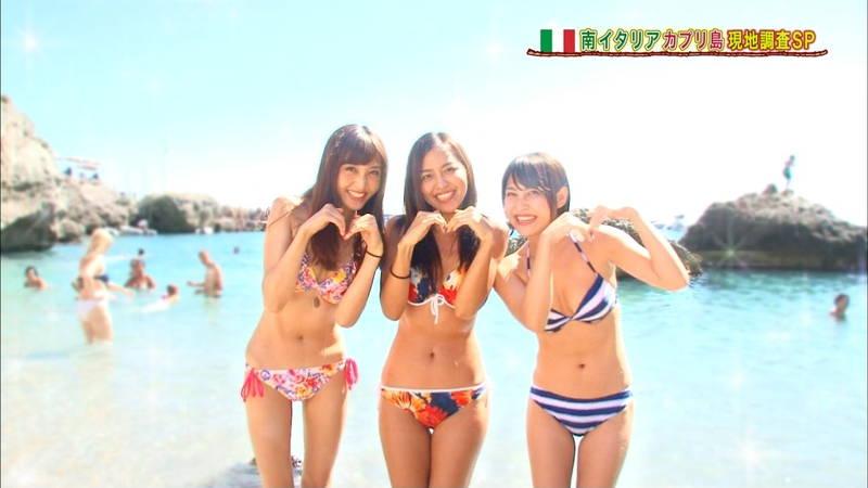 【素人キャプ画像】関西の海水浴場のインタビューで爆乳ばかりが映るという奇跡www 14