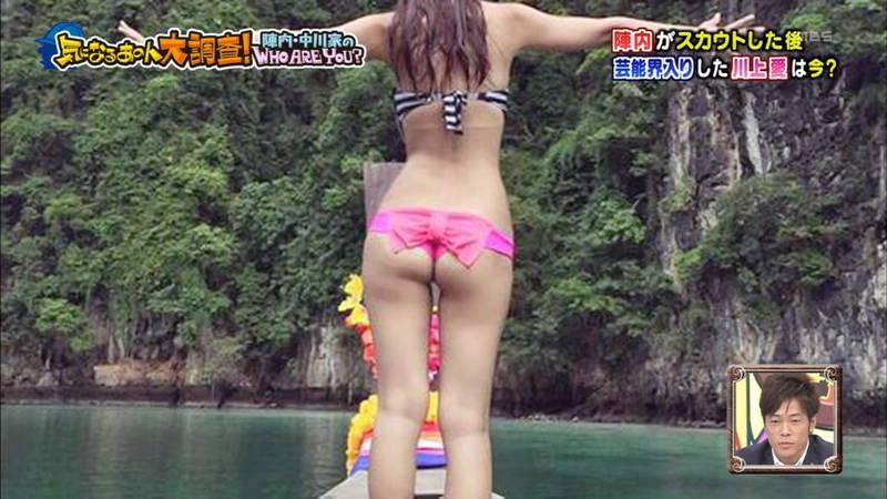 【川上愛キャプ画像】ケツの露出が高すぎるTバックビキニなどよろずお宝まとめ! 31