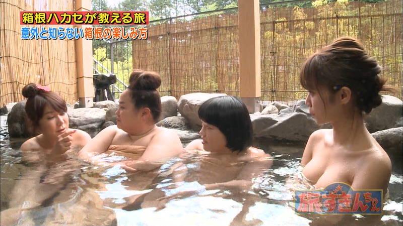 【菜乃花キャプ画像】女芸人と一緒に入浴する菜乃花のおっぱいの貫禄が半端ないwww 06