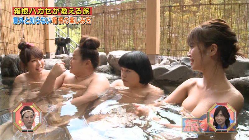 【菜乃花キャプ画像】女芸人と一緒に入浴する菜乃花のおっぱいの貫禄が半端ないwww 11