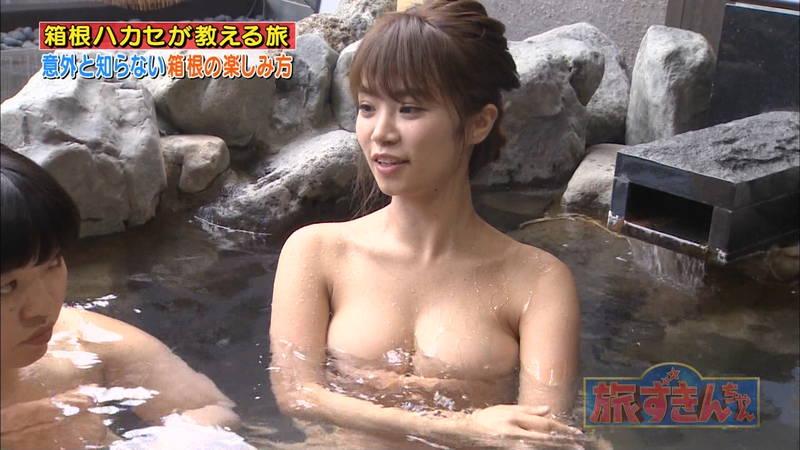 【菜乃花キャプ画像】女芸人と一緒に入浴する菜乃花のおっぱいの貫禄が半端ないwww 14