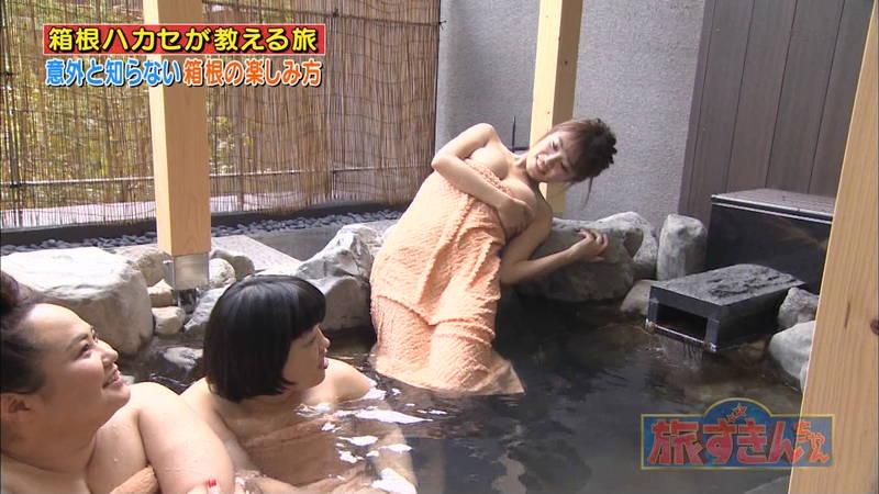 【菜乃花キャプ画像】女芸人と一緒に入浴する菜乃花のおっぱいの貫禄が半端ないwww 18