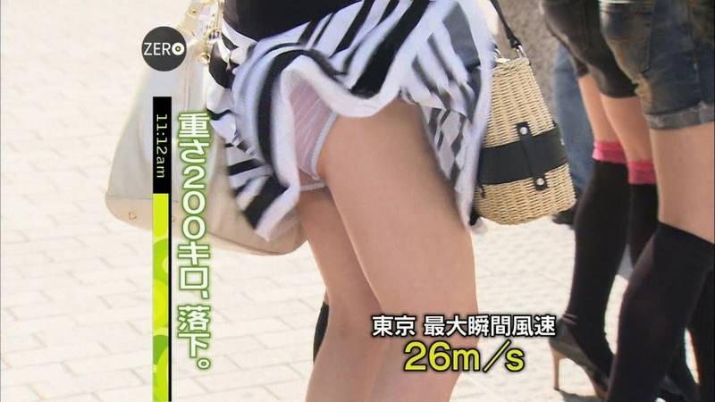 【チラリズムキャプ画像】ノーブラで乳首ポチしていたりおっぱいやパンツがチラリしている神番組!w 09