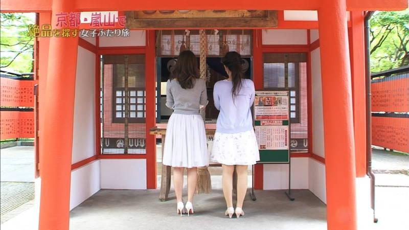 【神谷ゆう子キャプ画像】嵐山のロケで着衣巨乳の主張が激しすぎた神谷ゆう子www 06