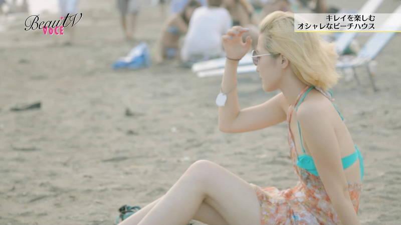 【素人キャプ画像】夏になるとテレビでも素人さんの水着姿で見れていいよねwww 08