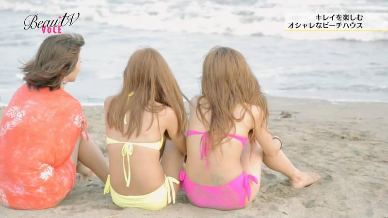 【素人キャプ画像】夏になるとテレビでも素人さんの水着姿で見れていいよねwww 09
