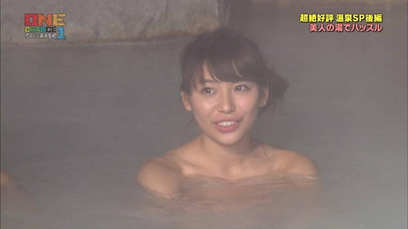 【温泉キャプ画像】タオル一枚なのを忘れて温泉を楽しむアイドルたちwww 09