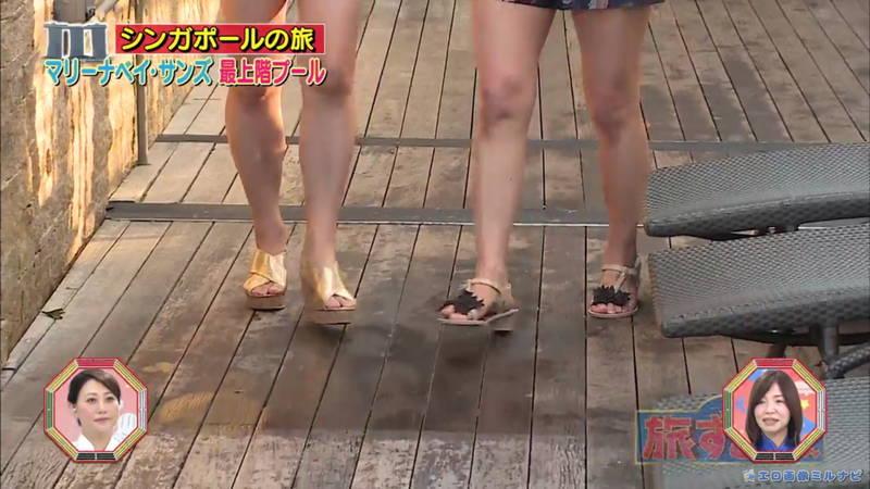 【爆乳キャプ画像】和地つかさと天木じゅんの爆乳コンビがシンガポールの例のプールに!w 20