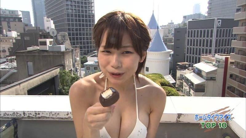 【和地つかさキャプ画像】和地つかさのアイス食べがあざとすぎてフェラにしか見えないwww 24