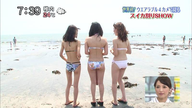 【素人キャプ画像】いますぐにでも海に行きたくなる素人女性たちの水着キャプまとめ!w