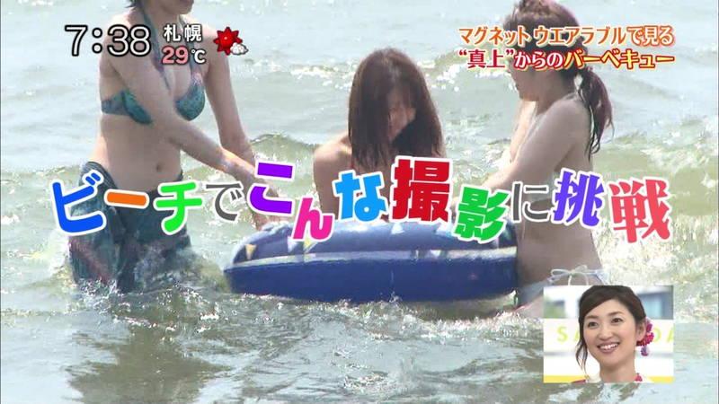 【素人キャプ画像】いますぐにでも海に行きたくなる素人女性たちの水着キャプまとめ!w 32