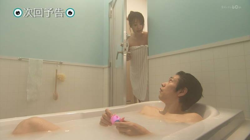 【深田恭子キャプ画像】Tシャツの下に水着を着ていても透けるとエロいという事実www 20