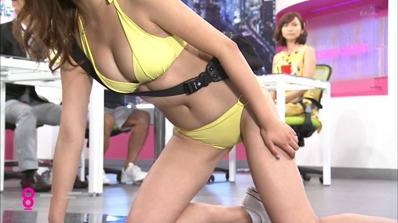 【柳いろはキャプ画像】柳ゆり菜の姉がエロADとして巨乳を惜しげもなく披露www