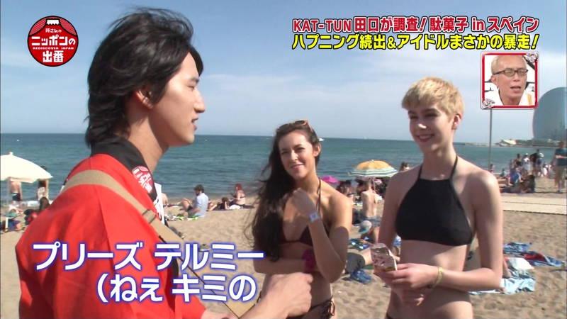 【外国人キャプ画像】スペインのビーチには年齢不詳の巨乳素人さんがたくさんwww 08