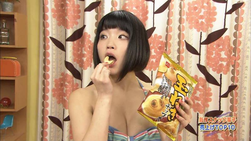 【Gカップキャプ画像】根本凪がテレビ番組でGカップなのに惜しげもなくビキニ姿になっているwww 12