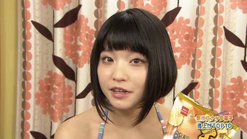 【Gカップキャプ画像】根本凪がテレビ番組でGカップなのに惜しげもなくビキニ姿になっているwww 22