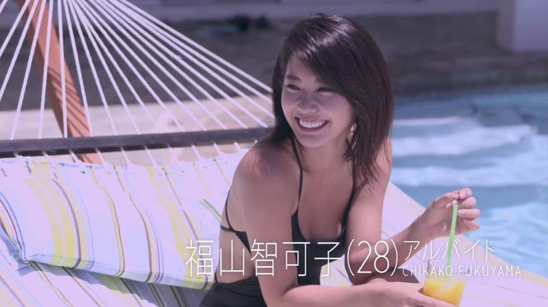 【福山智可子キャプ画像】エクササイズや大胆水着でいちいち色気を出してくる福山智可子www 04