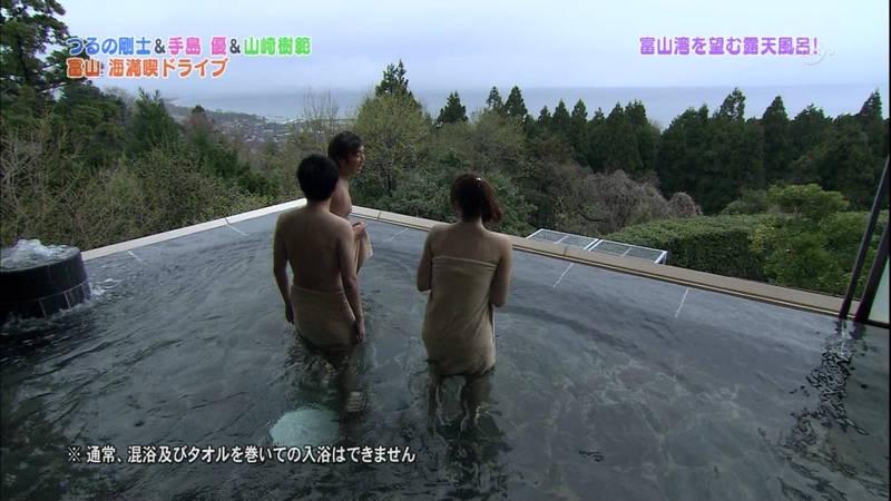 【手嶋優キャプ画像】温泉に入浴している手嶋優が悔しいけど抜けるwww 05