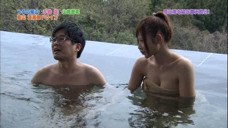 【手嶋優キャプ画像】温泉に入浴している手嶋優が悔しいけど抜けるwww 24
