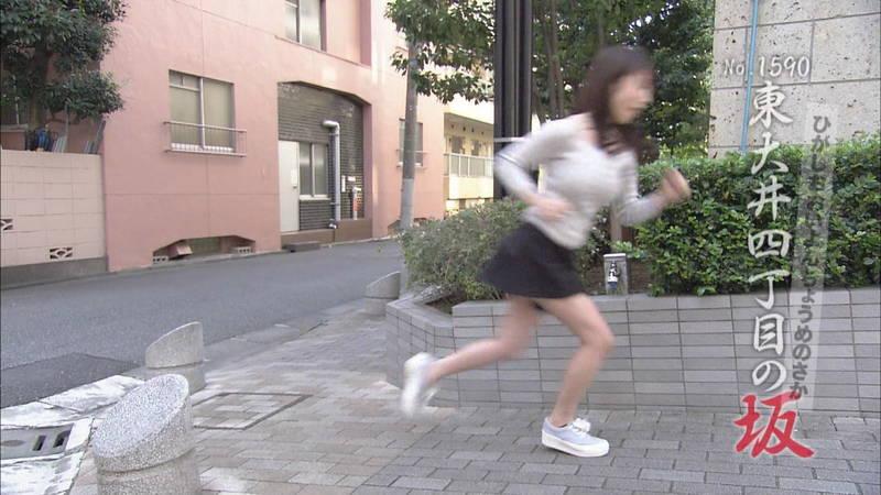 【清水あいりキャプ画像】Hカップを全力で揺らして坂道を駆け上がる清水あいりwww 17