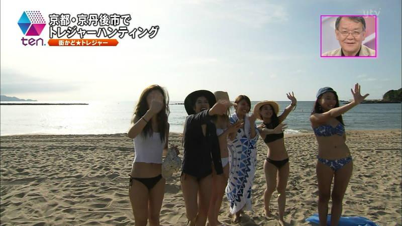 【素人キャプ画像】全国各地のビーチで映ったピチピチ素人さんのビキニキャプまとめ! 06