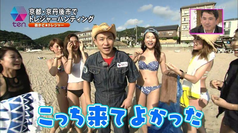 【素人キャプ画像】全国各地のビーチで映ったピチピチ素人さんのビキニキャプまとめ! 28