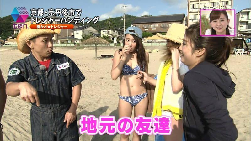【素人キャプ画像】全国各地のビーチで映ったピチピチ素人さんのビキニキャプまとめ! 30