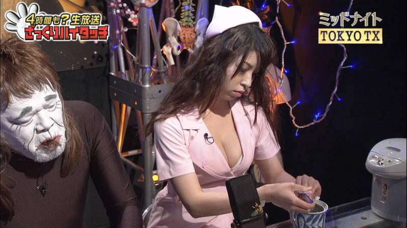 【橋本マナミキャプ画像】橋本マナミの巨乳接写に始まり、全編おっぱいだらけだった番組www 13