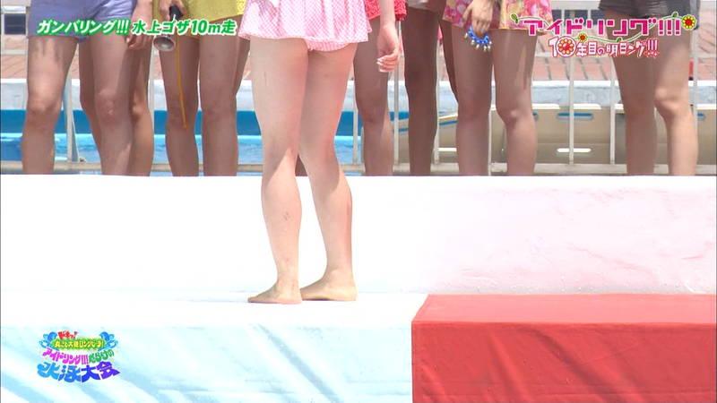 【大川藍キャプ画像】他のグループアイドルメンバーよりも一際大きかった大川藍の巨乳についてwww 23